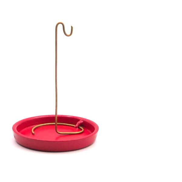 210.067 Incensario de Cerámica para Incienso Rope y Conos | PLATO ROJO